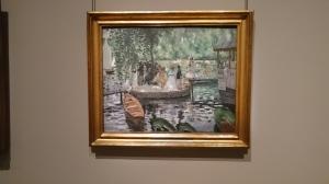 La Grenouillère by Auguste Renoir