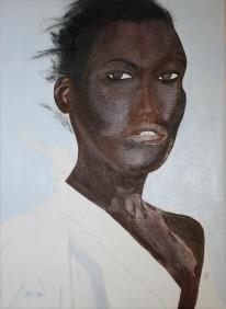 K. Oljemålning av Jan David Lindgren