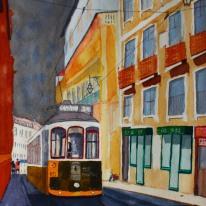 24:an. Akvarell av Jan David Lindgren